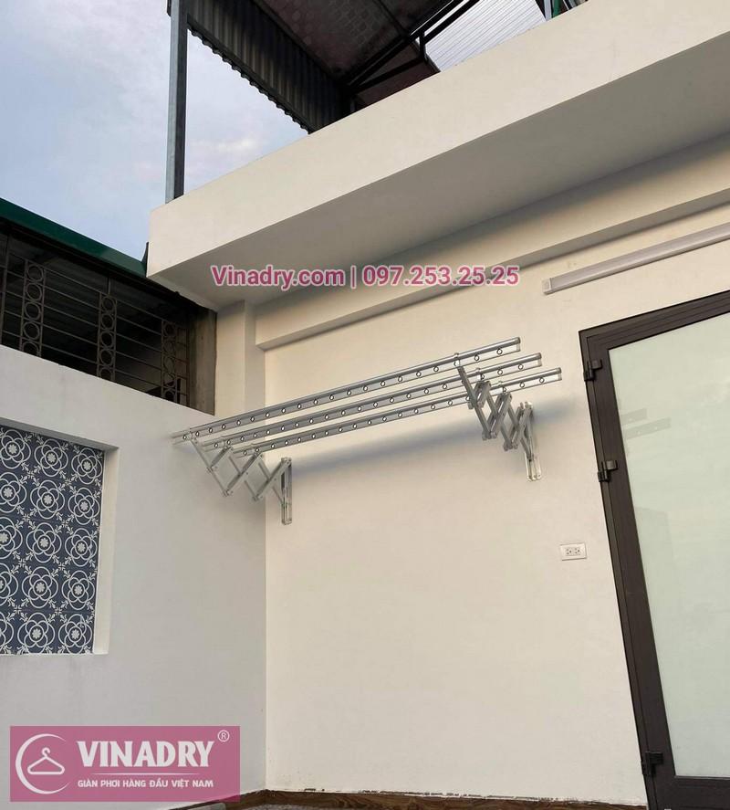 giàn phơi gắn tường Hòa Phát 68A thiết kế chuẩn Hàn
