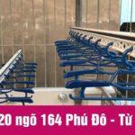 Lắp giàn phơi mái tôn nhà số 20 ngõ 164 Phú Đô [Video]