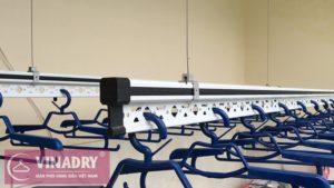 Lắp giàn phơi thông minh điện tự động ở Hai Bà Trưng nhà anh Trường ngõ 105 Bạch Mai