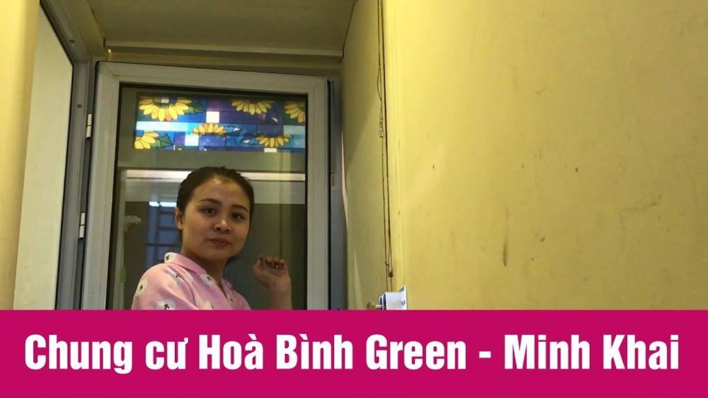 Lắp giàn phơi Hai Bà Trưng ở tòa B2 Hòa Bình Green City nhà chị Vân