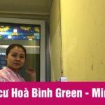 Lắp giàn phơi chung cư Hoà Bình Green [Video]