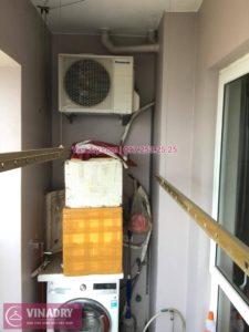 Sửa giàn phơi thông minh Hà Đông nhà chú Trung ở chung cư 16B Nguyễn Thái Học