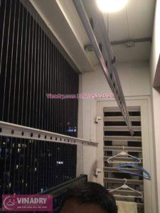 Sửa giàn phơi thông minh ở chung cư Times City nhà cô Trâm P2919 tòa T9