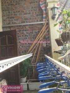 Sửa giàn phơi thông minh tại Thanh Trì nhà cô Thức ở ngách 22 ngõ 5 Tân Triều