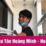 Lắp giàn phơi chung cư Tân Hoàng Minh – Hoàng Cầu [Video]