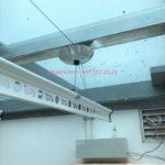 Giàn phơi bấm điện tự động có lắp được ở trần mái tôn, mái kính…