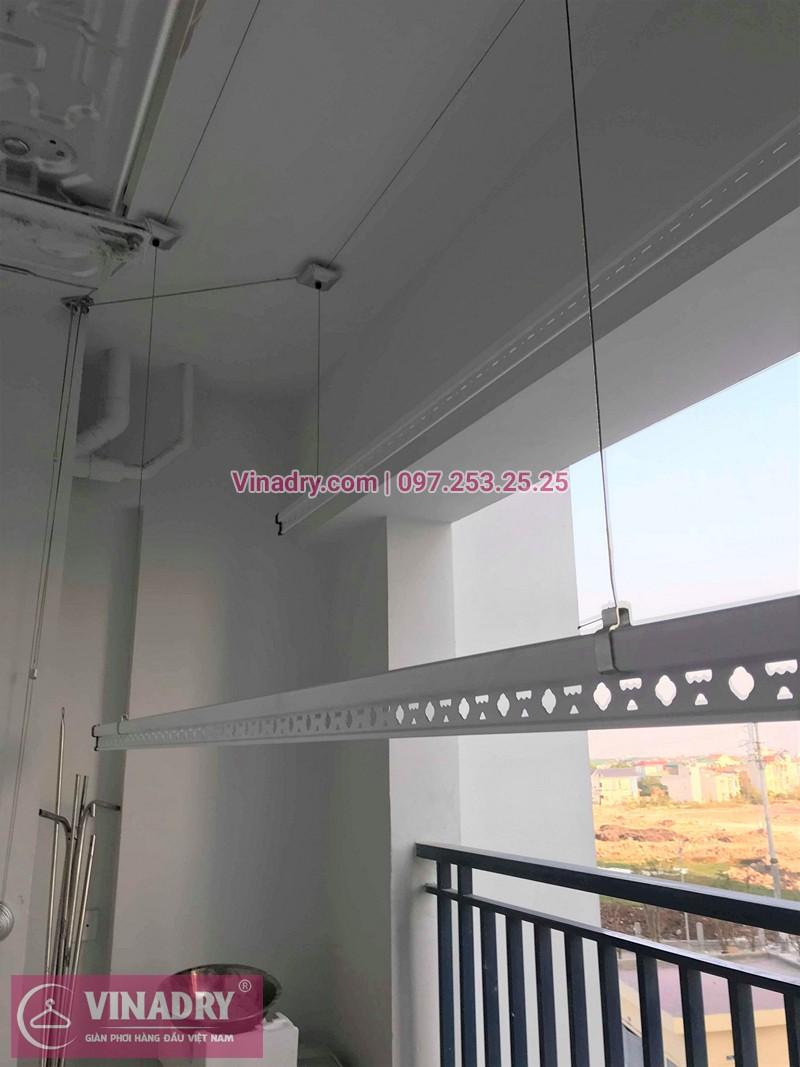 Lắp giàn phơi Hà Đông nhà chị Thành ở chung cư CT3 Xa La
