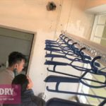 Lắp giàn phơi Từ Liêm nhà chị Bình ở P916 chung cư CT3A Nguyễn Cơ Thạch, Mỹ Đình