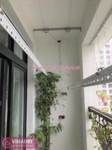 Sửa giàn phơi thông minh ở tòa R1 Royal City, Thanh Xuân nhà chị Lý