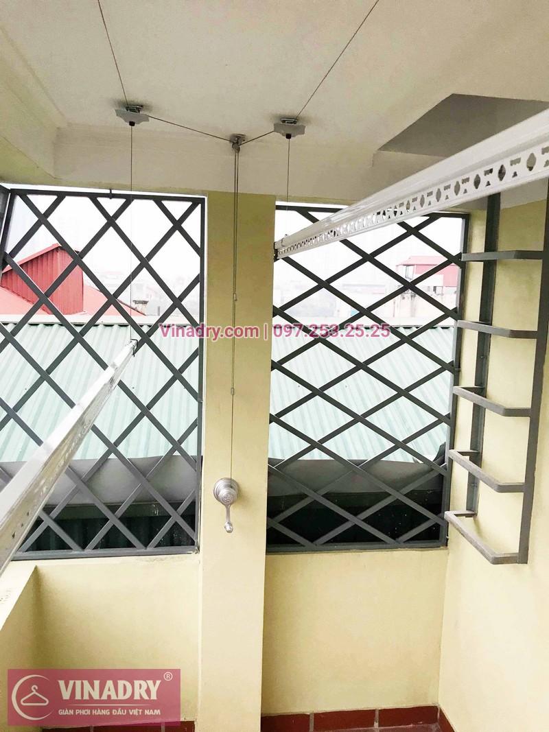 Lắp giàn phơi Hai Bà Trưng nhà anh Thịnh ở ngõ 158 Trương Định