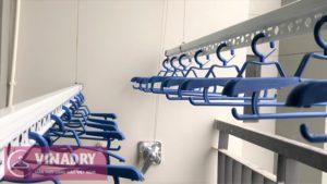 Lắp đặt giàn phơi thông minh nhà chị Thơ ở P3101 tòa Goldsilk Hà Đông