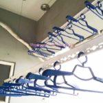 Lắp đặt giàn phơi thông minh ở chung cư CT2 Xa La, Hà Đông nhà chị Ly