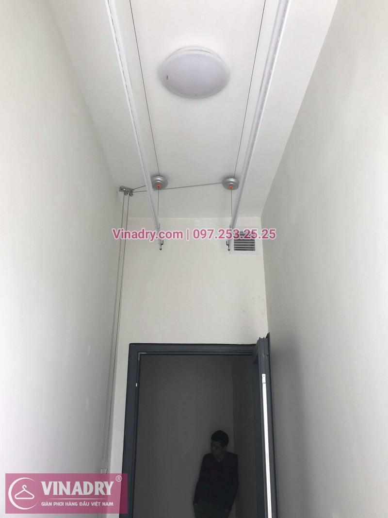 Lắp giàn phơi Thanh Xuân nhà chị Hải ở Imperia Garden 203 Nguyễn Huy Tưởng