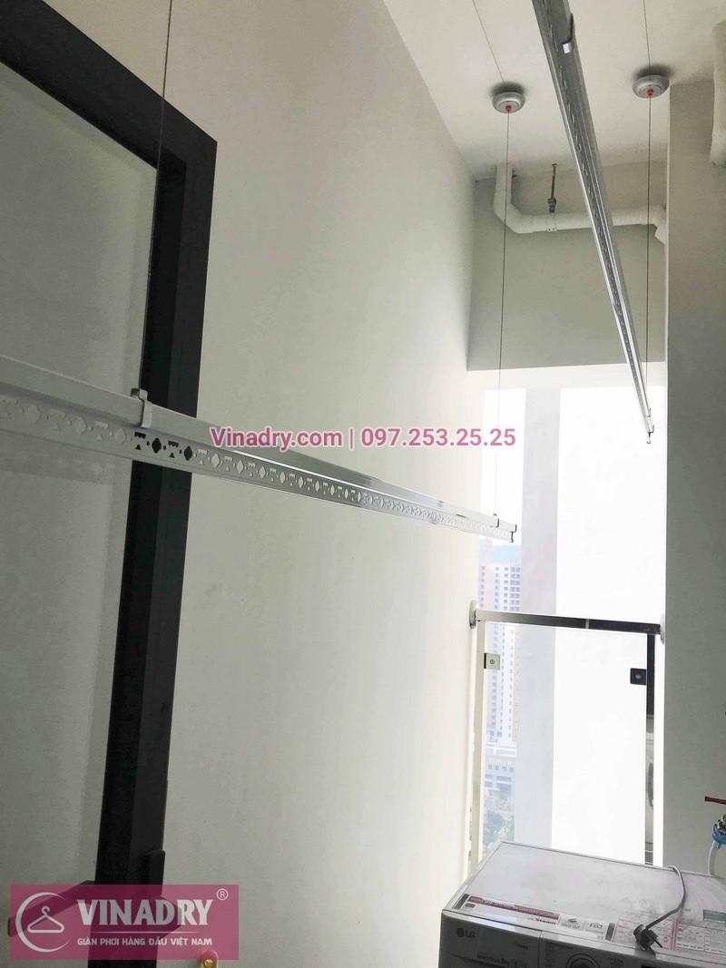 Lắp giàn phơi Thanh Xuân nhà chị Ngà ở tòa 27T Imperia Garden