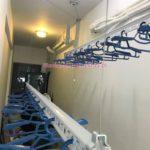 Lắp giàn phơi Từ Liêm nhà chị Mai ở tòa R2 chung cư Goldmark City, 136 Hồ Tùng Mậu