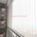 Lắp lưới an toàn ban công chung cư nhà chị Hồng ở Mipec Riverside, Long Biên