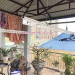 Sửa giàn phơi thông minh nhà chú Trọng ở ngõ 13 Lĩnh Nam, Hoàng Mai