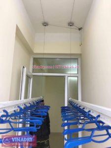 Lắp giàn phơi Gia Lâm nhà anh Tùng P714 Nhà Công vụ Bộ Tổng Tham Mưu