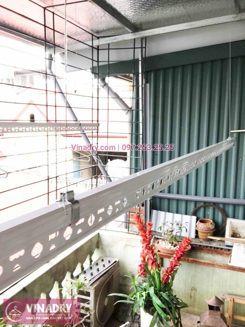 Lắp giàn phơi thông minh nhà chị Thảo ở ngõ 64 Vĩnh Hưng, Hoàng Mai