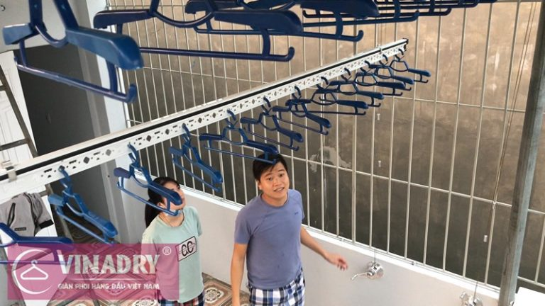 Bộ giàn phơi Gp701 là mẫu giàn phơi hiện được bán chạy nhất tại Hà Nội
