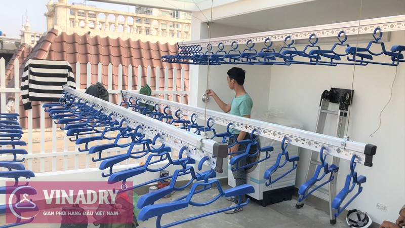 Địa chỉ mua giàn phơi quần áo thông minh tại Hà Nội được tặng công lắp