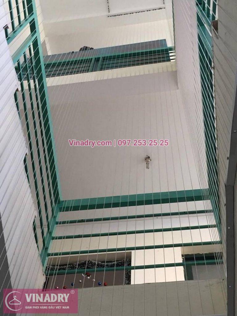 Lắp lưới an toàn cầu thang Trường Mầm non Xuân Tảo số 126 Xuân Đỉnh, Từ Liêm, Hà Nội