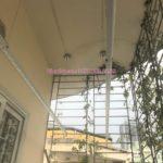 Lắp giàn phơi thông minh Cầu Giấy nhà chị Hà P605, N14 đường Trần Đăng Ninh