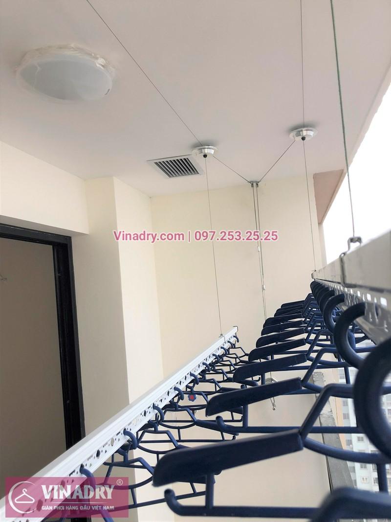 Lắp giàn phơi thông minh tại chung cư Eco Lake View 32 Đại Từ giá rẻ