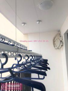 Lắp giàn phơi thông minh tại chung cư Gelexia Riverside 885 Tam Trinh