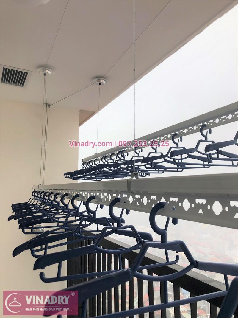Lắp giàn phơi thông minh tại chung cư T&T Riverview giá rẻ, FREE công lắp