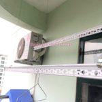 Sửa giàn phơi thông minh nhà chị Hiền ở chung cư X1 ngõ 140 Nguyễn Xiển