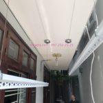 Lắp giàn phơi Đống Đa nhà cô Thịnh ở số 85 ngõ 580 Trường Chinh