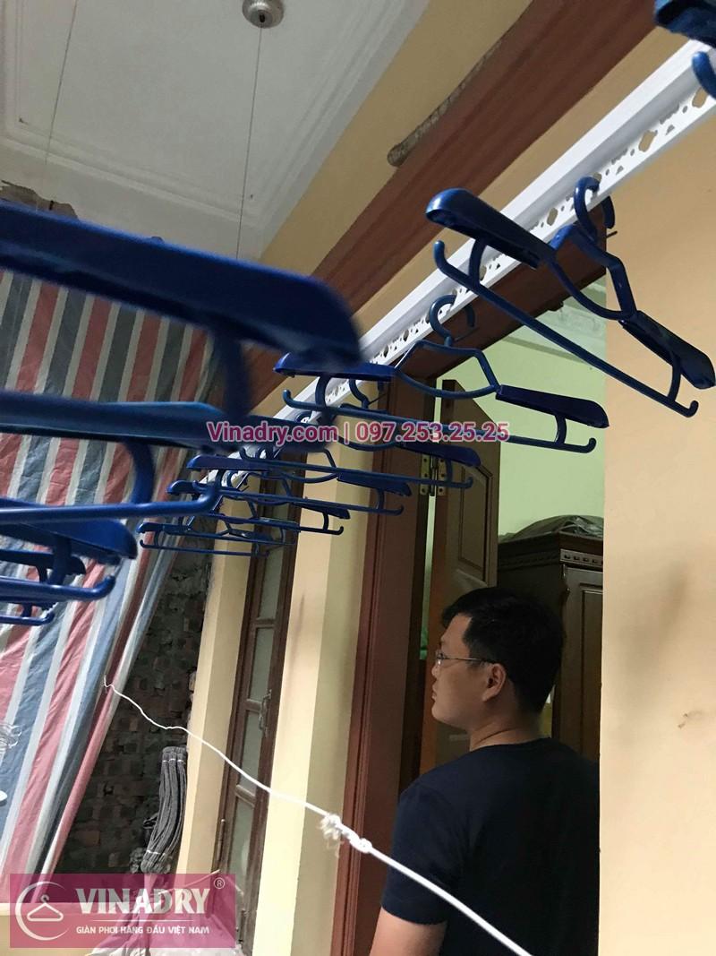 Lắp giàn phơi Đống Đa nhà anh Tùng ngõ 74 Trần Quang Diệu