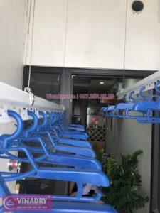 Lắp giàn phơi Hoàng Mai ở chung cư Hateco nhà anh Phú tòa CT1A