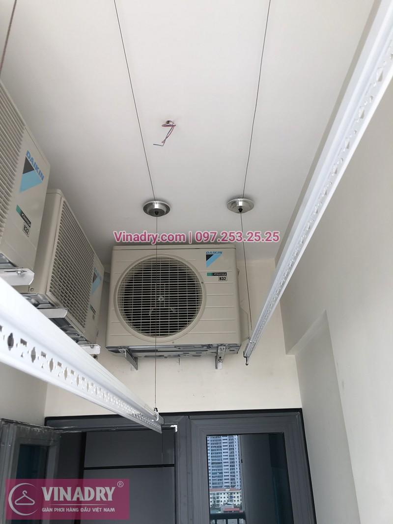 Lắp giàn phơi quần áo chung cư Xuân Đỉnh nhà chị Ly ở P1412 CT2