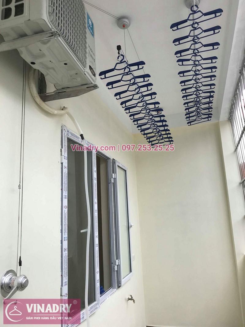 Lắp giàn phơi Hà Đông nhà chị Mỹ ở ngõ 108 Trần Phú