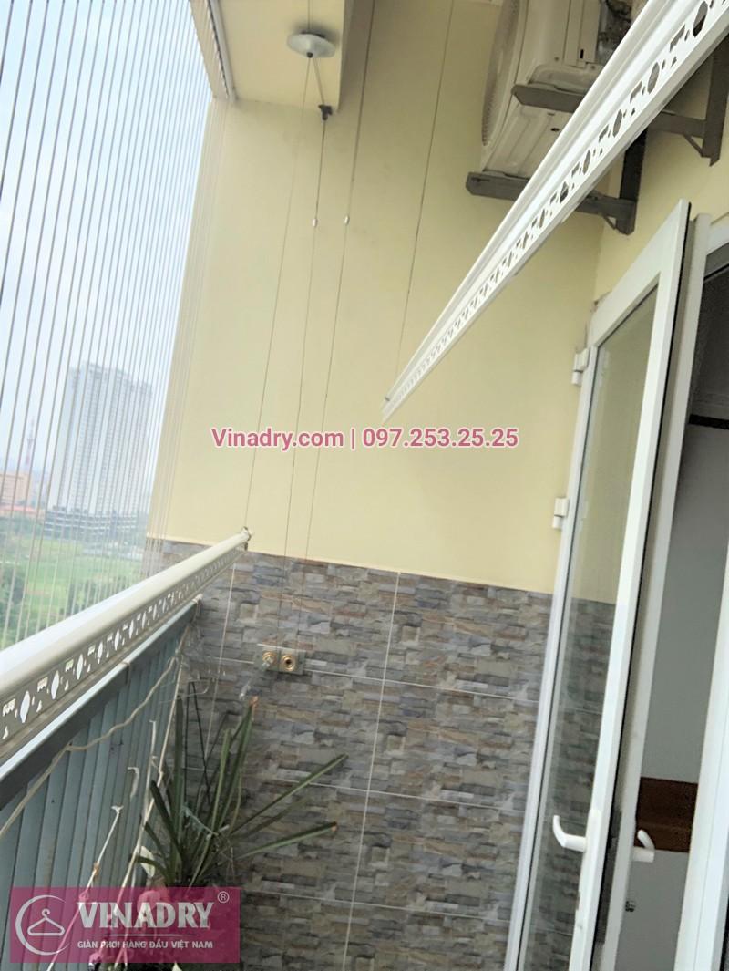 Sửa giàn phơi thông minh nhà chị Thục ở chung cư CT1 Trung Văn Vinaconex 3