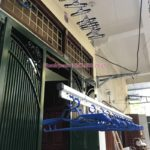 Lắp giàn phơi thông minh nhà anh Lợi ở ngõ 805 Giải Phóng, Hoàng Mai