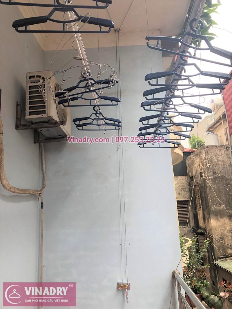 Lắp giàn phơi Từ Liêm nhà chị Dinh ở ngõ 23 Tân Xuân