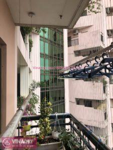 Lắp giàn phơi thông minh Cầu Giấy nhà chị Ly ở Làng Quốc tế Thăng Long