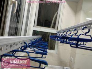 Lắp giàn phơi thông minh chung cư B3D Nam Trung Yên nhà anh Hoàng