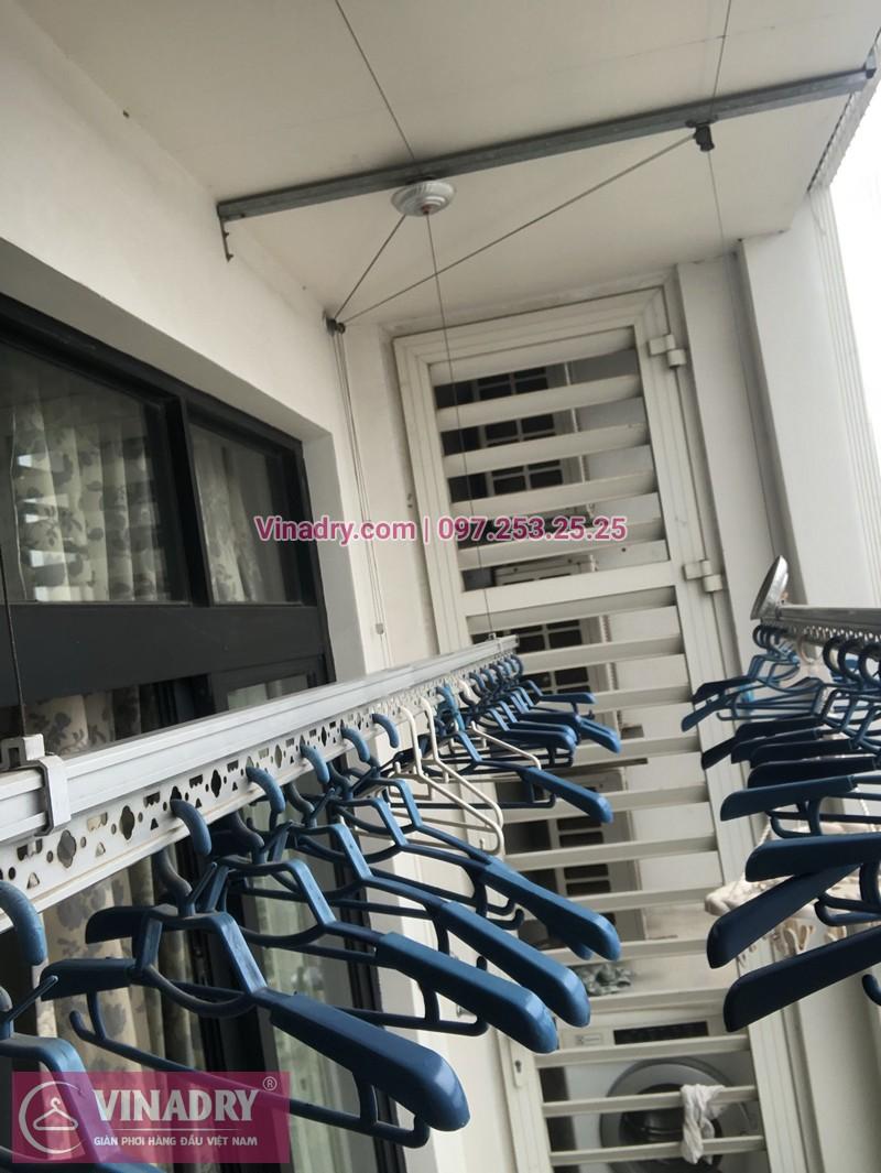 Lắp giàn phơi quần áo chung cư nhà chị Liễu tòa R4 Royal City