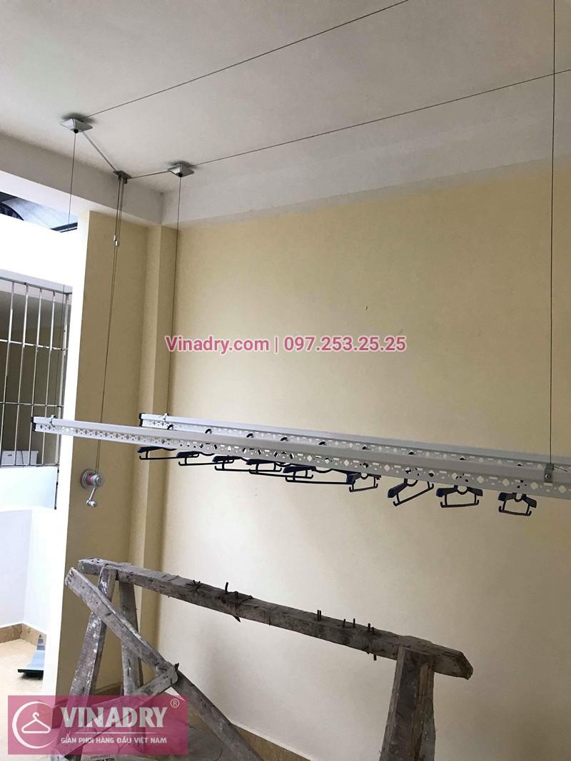 Lắp giàn phơi Hoàng Mai nhà chị Hải ở ngõ 420 Kim Giang