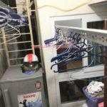 Sửa giàn phơi thông minh chung cư CT10 Đại Thanh nhà chị Lĩnh bị đứt cáp