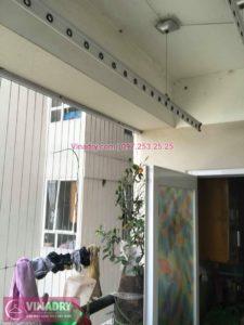 Sửa giàn phơi thông minh chung cư Vincity Sài Đồng nhà chị Trang
