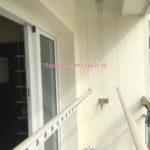Thay bộ tời giàn phơi thông minh nhà chị Hải ở chung cư 505 Minh Khai