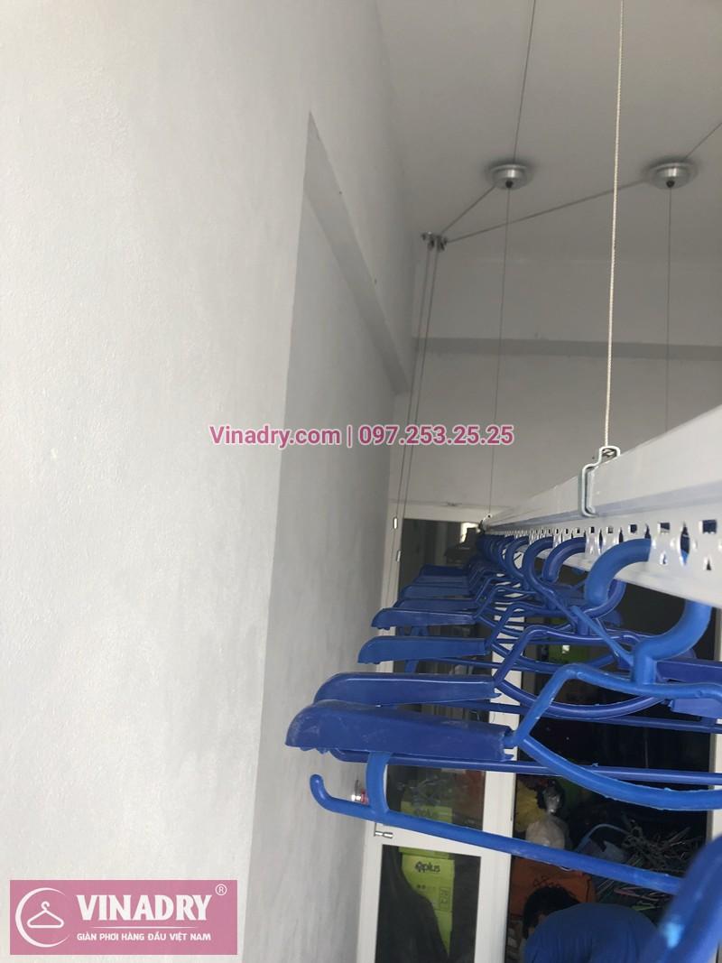 Lắp giàn phơi Hai Bà Trưng ở chung cư 622 Minh Khai nhà chị Thủy