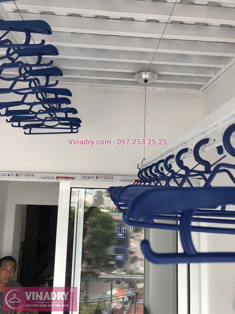 Lắp giàn phơi thông minh chung cư 71 Nguyễn Chí Thanh nhà chị Ánh