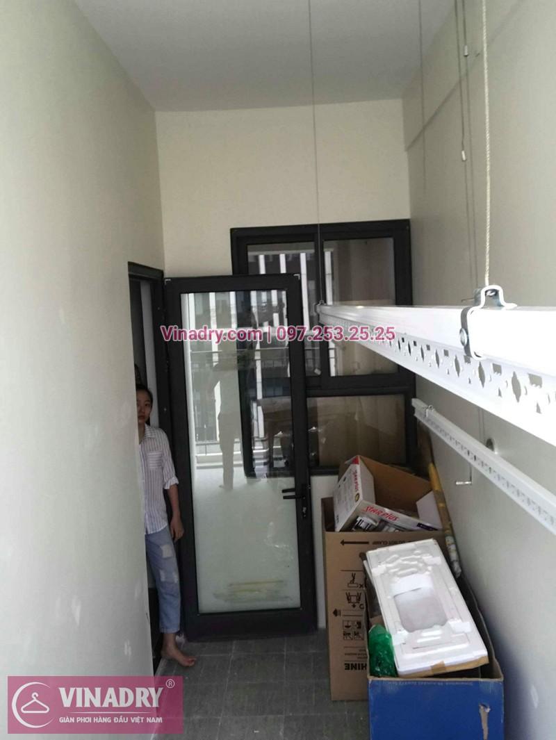 Lắp giàn phơi Từ Liêm nhà chị Hoa ở chung cư An Bình City