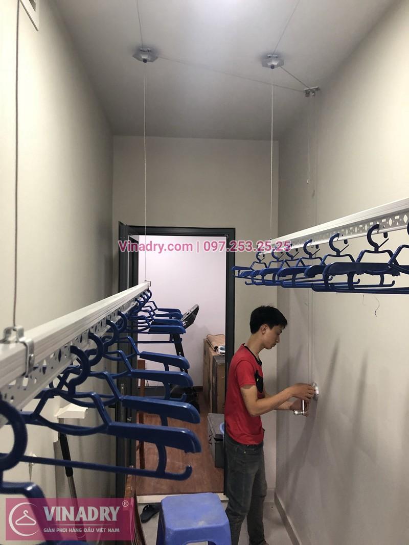 Lắp giàn phơi quần áo chung cư Ngoại Giao Đoàn nhà anh Vũ ở N3-T3A